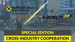 Special edition: cross-industry cooperation Kapsch TrafficCom, Nayax and RBI